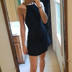 Solemio Dresses - Black Mini Dress